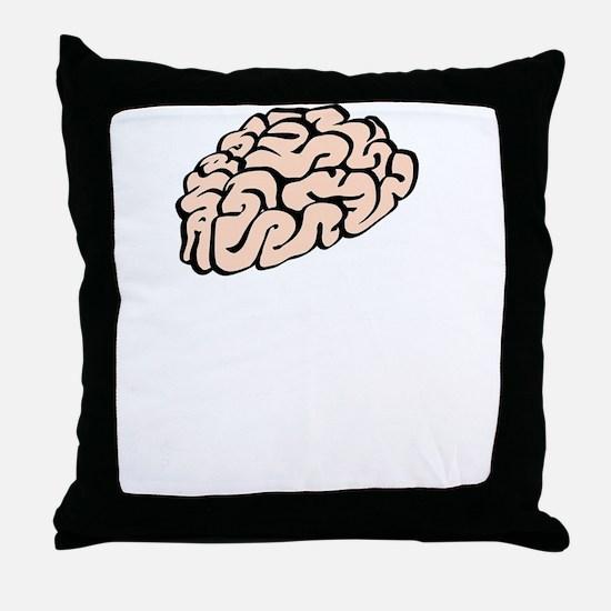 Funnier Dirty Mind Throw Pillow