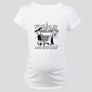 Buying Local in Kuala Lumpur Maternity T-Shirt
