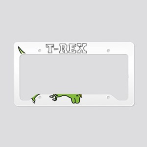T-rex Hates Pushups License Plate Holder