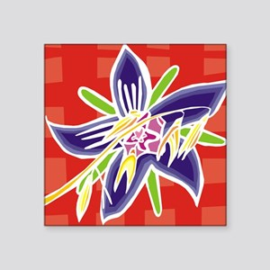 "Paula Tile Coaster Square Sticker 3"" x 3"""