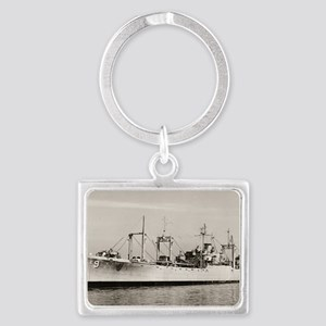 uss mazama rectangle magnet Landscape Keychain