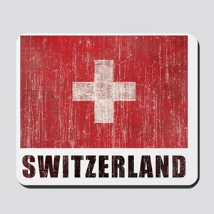 Vintage Switzerland. Mousepad