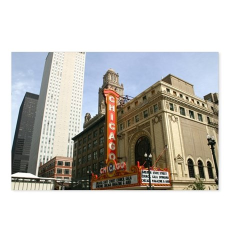 CHICAGO THEATRE BUILDING Postcards (Package of 8)