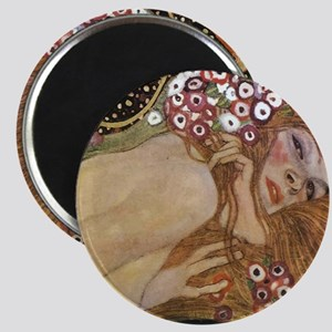 Gustav Klimt Water Serpents 2 (detail) Magnet