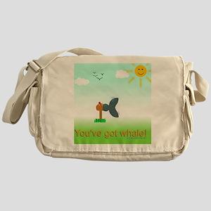Got Whale Messenger Bag