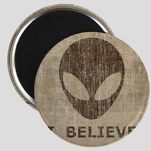 Vintage Alien Magnet