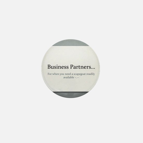 Business Partners Mini Button