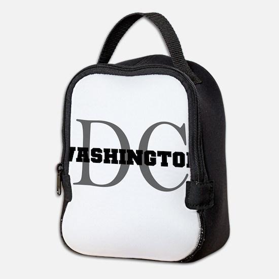 Washington thru DC Neoprene Lunch Bag