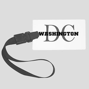 Washington thru DC Luggage Tag