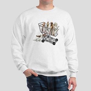 Shopping with Ferrets Sweatshirt