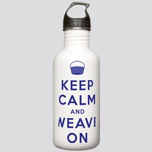 Keep Calm and Weave On Stainless Water Bottle 1.0L