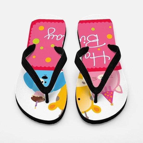 birthday3 Flip Flops