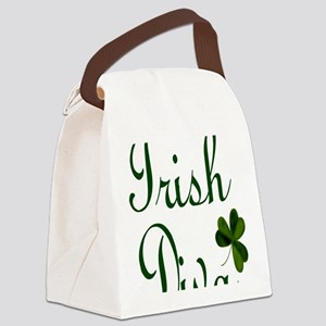 Irish Diva Twin Duvet Canvas Lunch Bag