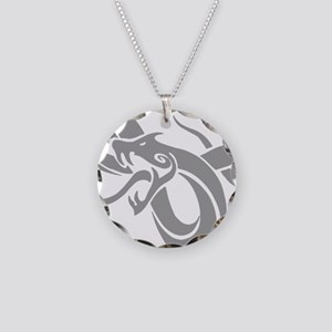 Year of Snake 102 Necklace Circle Charm