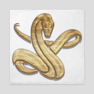 Year of Snake 100 Queen Duvet