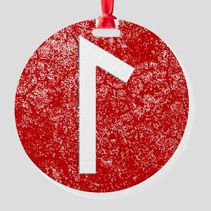 Laguz Round Ornament