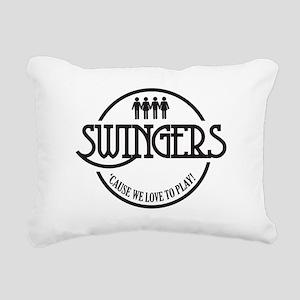 Swingers Rectangular Canvas Pillow