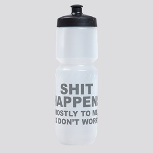 Shit Happens Sports Bottle