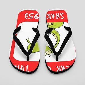 Year of The Snake 1953 Flip Flops