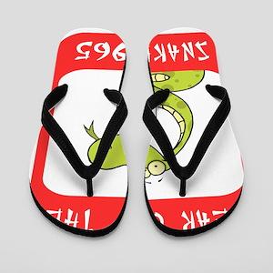 Year of The Snake 1965 Flip Flops