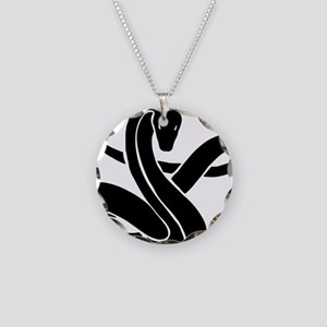 Year of Snake 101 Necklace Circle Charm