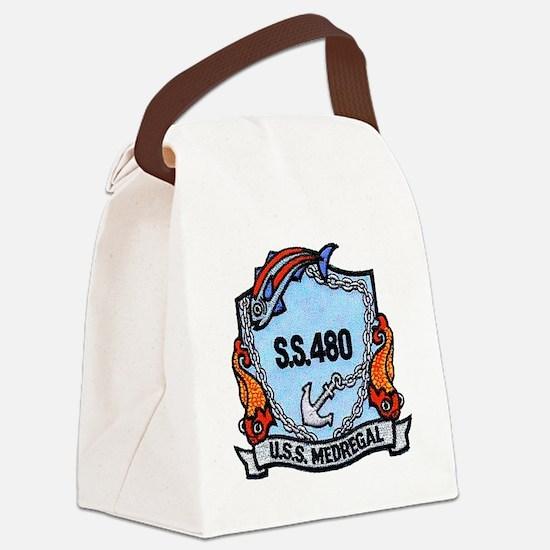 uss medregal patch transparent Canvas Lunch Bag