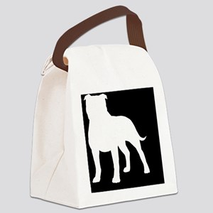 staffyhitch Canvas Lunch Bag