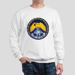 uss mount hood patch transparent Sweatshirt