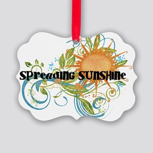Spreading Sunshine Picture Ornament