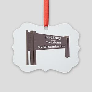 Fort Bragg Picture Ornament