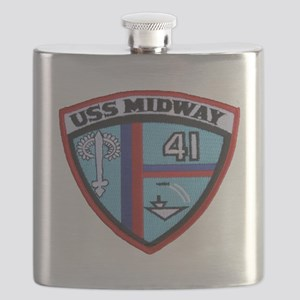 uss midway patch transparent Flask