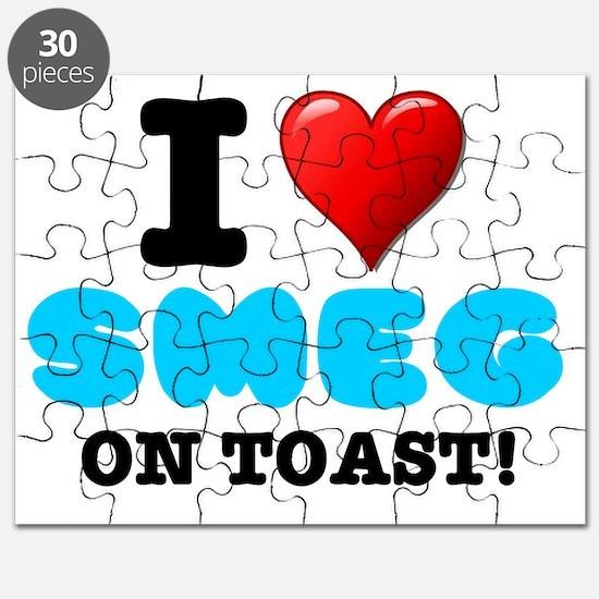 I LOVE - SMEG ON TOAST Puzzle