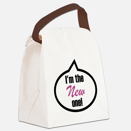 Im the new one! Canvas Lunch Bag