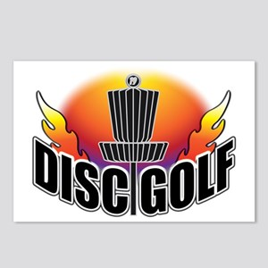 DISC GOLF NEW Postcards (Package of 8)