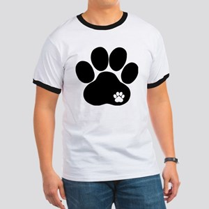 Double Paw Ringer T