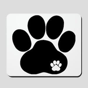 Double Paw Mousepad