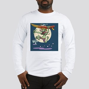 surf-monster-CRD Long Sleeve T-Shirt