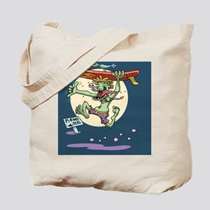 surf-monster-CRD Tote Bag