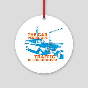 Car Periscope Shirt Round Ornament
