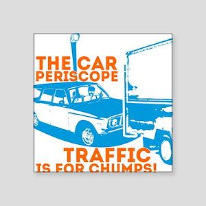 """Car Periscope Shirt Square Sticker 3"""" x 3"""""""