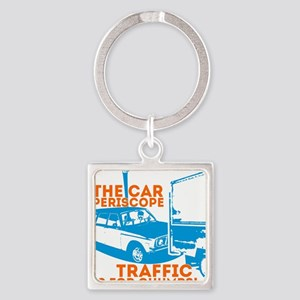 Car Periscope Shirt Square Keychain