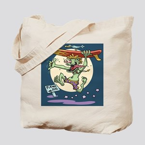 surf-monster-PLLO Tote Bag