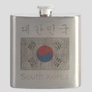 Vintage South Korea Flask
