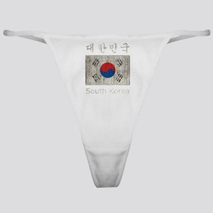 Vintage South Korea Classic Thong