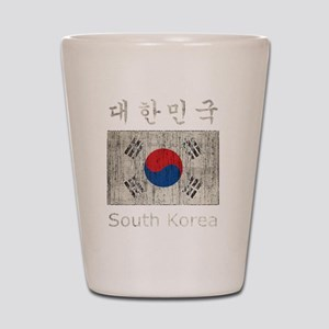 Vintage South Korea Shot Glass