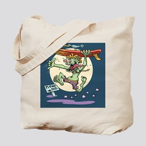 surf-monster-BUT Tote Bag