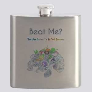 Billiard Sea Dragons Flask