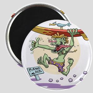 surf-monster-T Magnet