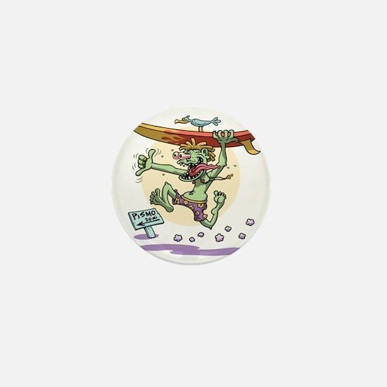 surf-monster-T Mini Button