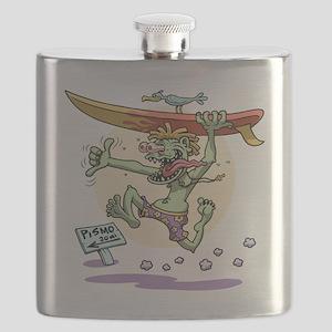 surf-monster-T Flask